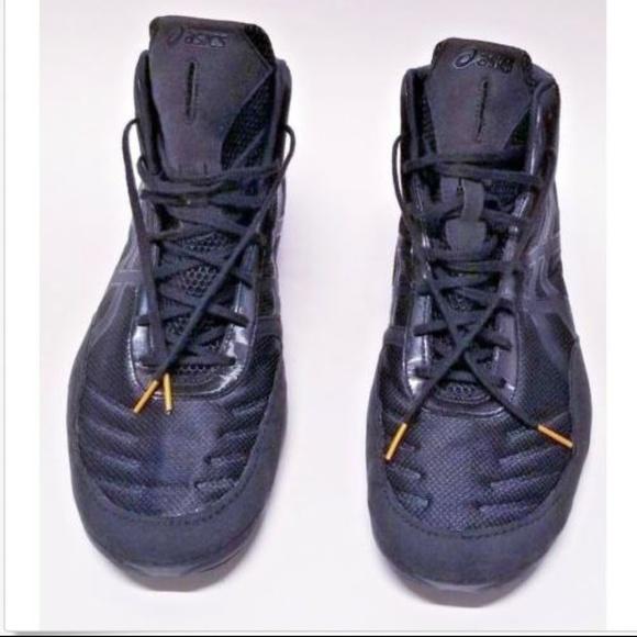 18ad4b401f36 Asics Other - Asics Mens 15 JB Elite V2.0 Wrestling Shoes Black